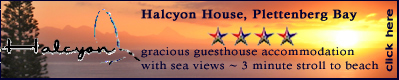 Halycon House - Plettenberg Bay Accommodation